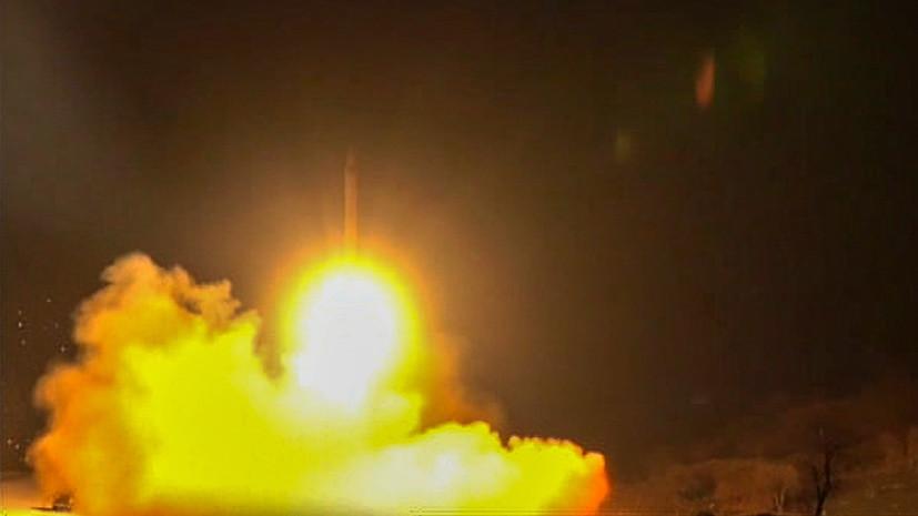 Иран предупредил Ирак о ракетных ударах по базам США