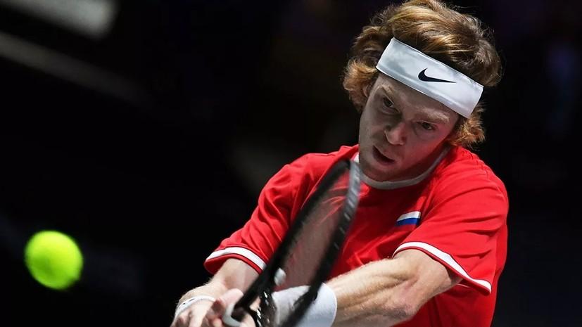 Рублёв обыграл Кукушкина и вышел в четвертьфинал турнира АТР в Дохе