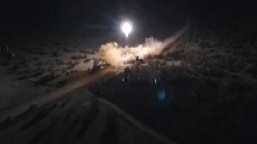 МИД Ирака осудил ракетные удары Ирана