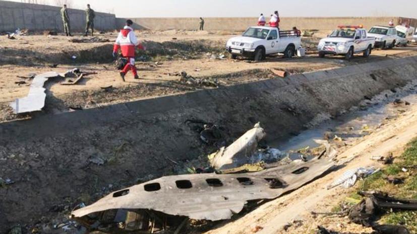 Зеленский заявил о приоритете расследования авиакатастрофы в Иране