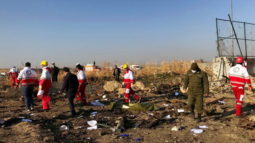 Опубликованы первые результаты расследования авиакатастрофы в Иране