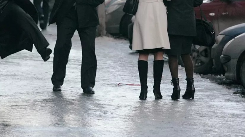 В ГИБДД предупредили о гололедице в Москве