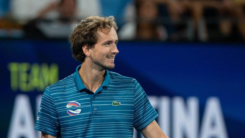 Медведев победил Шварцмана и вывел сборную России в полуфинал ATP Cup