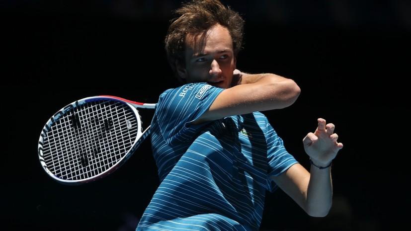 Медведев дважды ударил ракеткой по судейской вышке в четвертьфинале ATP Cup