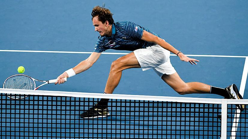 Как в Кубке Дэвиса: Медведев и Хачанов победили Аргентину и пробились в полуфинал ATP Cup