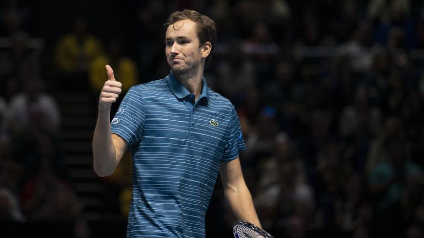 Теннисист Медведев назвал тяжёлым прошедший матч со Шварцманом на ATP Cup