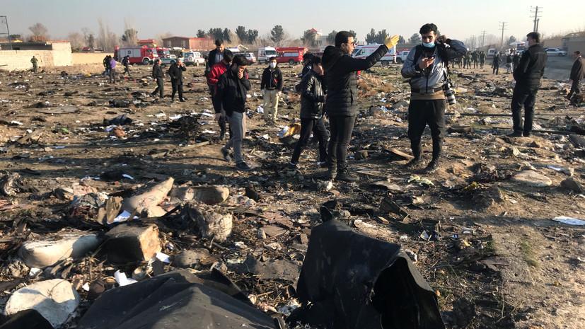 Зеленский обсудил с Рухани расследование авиакатастрофы в Иране