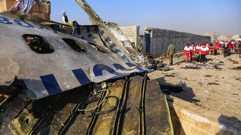«Пилоты пытались вернуться в аэропорт»: в Иране опровергли версию о ракетной атаке на украинский Boeing