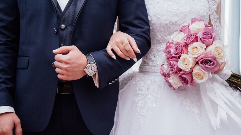 В Москве более 1,4 тысячи пар планируют заключить брак в «красивые даты» февраля