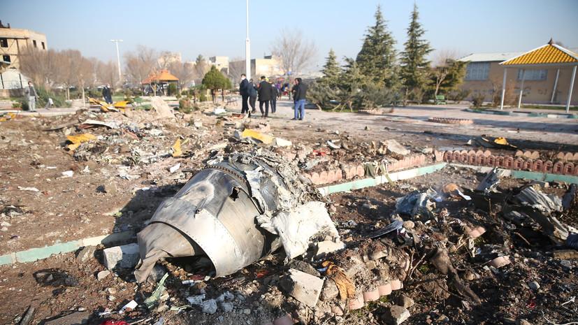 США передали Украине данные по авиакатастрофе в Иране