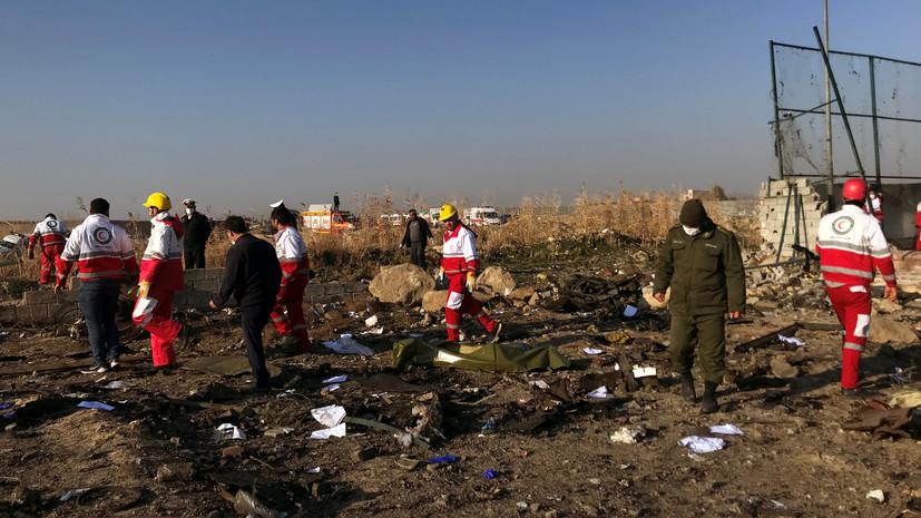 МАК заявил о готовности помочь в расследовании авиакатастрофы в Иране