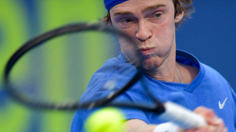 Рублёв обыграл Эрбера и вышел в полуфинал турнира ATP в Дохе
