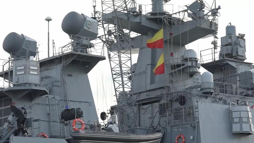 Командир фрегата «Адмирал Григорович» рассказал о совместных учениях двух флотов