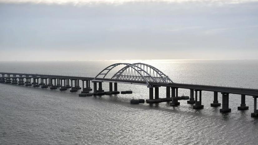 Путин назвал дату начала движения грузовых поездов по Крымскому мосту