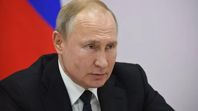 Путин заявил о плачевном состоянии здравоохранения в Крыму