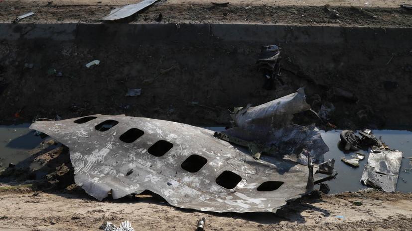В США считают вероятным, что Иран сбил украинский самолёт