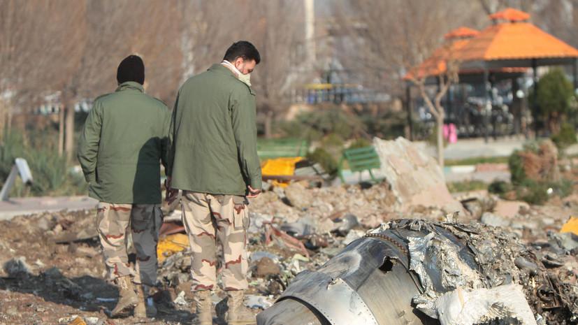 СБУ рассматривает две приоритетные версии авиакатастрофы в Иране