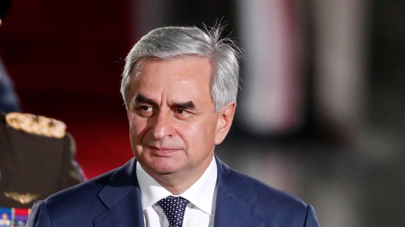 Президент Абхазии высказался об отмене итогов выборов