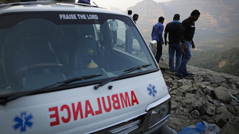 Около 20 человек погибли при ДТП с автобусом в Индии