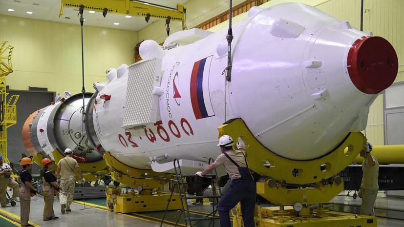 На космодроме Восточный начата сборка «Союза-2.1б»