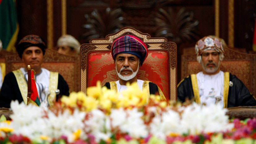 Скончался султан Омана Кабус бен Саид