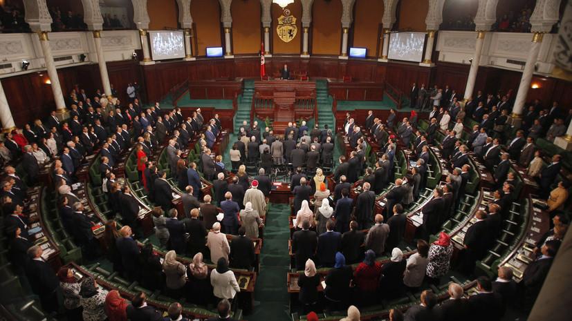 Тунисский парламент не утвердил новый состав правительства