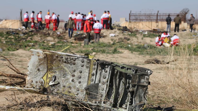 В Иране заявили, что украинский лайнер был сбит по ошибке