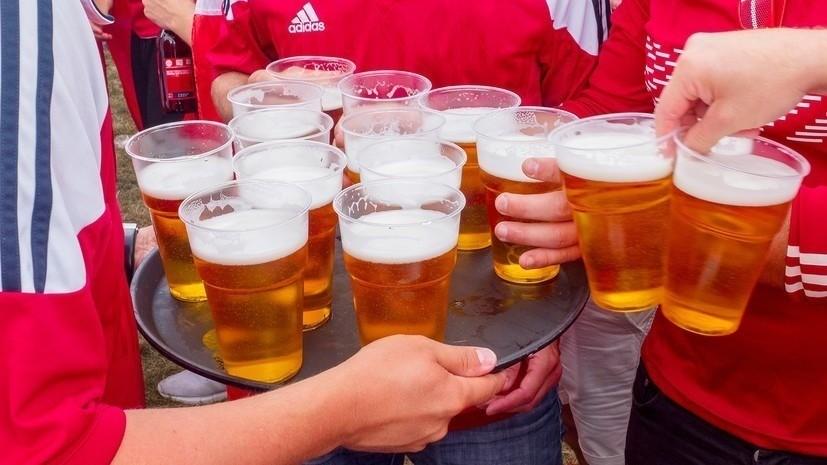 Бушманов назвал продажу пива на стадионах правильной инициативой