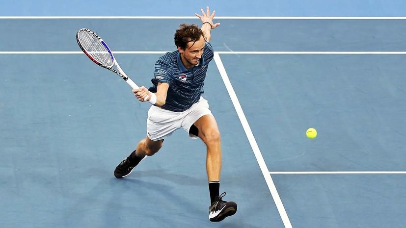 Борьба Медведева с Джоковичем и продолжение неудачной серии Хачанова: россияне уступили сербам в полуфинале ATP Cup
