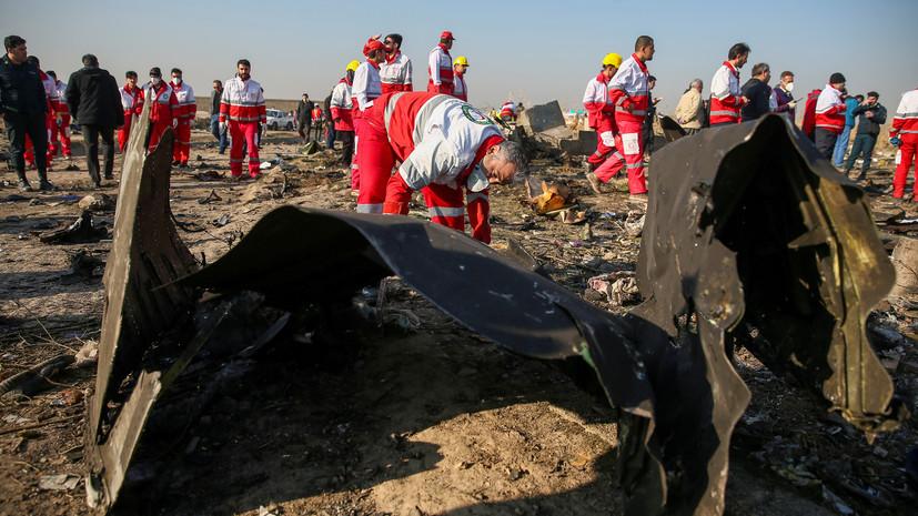 Премьер Украины оценил заявление Ирана о сбитом Boeing