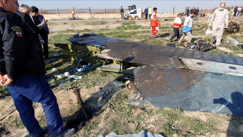 В КСИР признали ответственность за крушение украинского Boeing