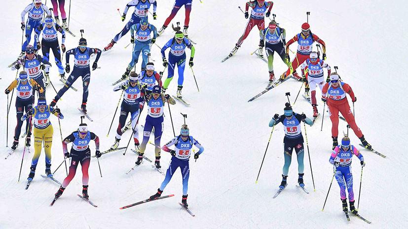 Худший результат сезона: Россия заняла седьмое место в женской эстафете на этапе Кубка мира по биатлону в Оберхофе