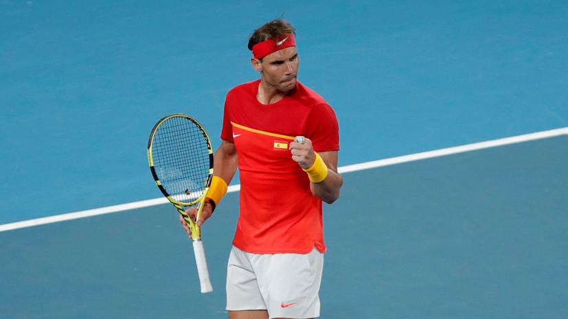 Сборная Испании вышла в финал ATP Cup