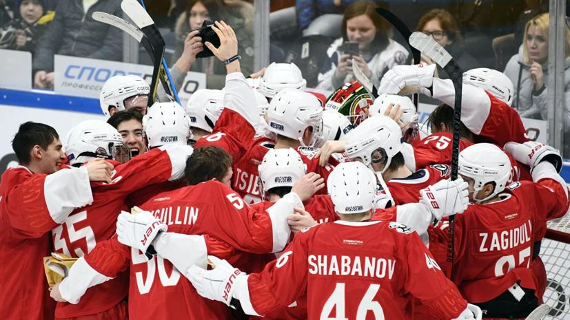 Сборная Востока победила команду Запада на Кубке вызова МХЛ