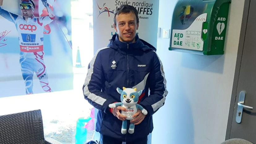 Биатлонист Домичек завоевал золото юношеских Олимпийских игр