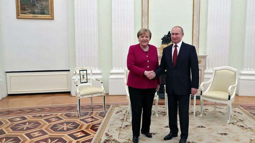Меркель заявила о необходимости достроить «Северный поток — 2»