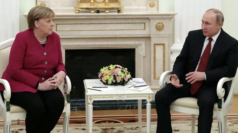 Путин призвал избежать крупномасштабных конфликтов на Ближнем Востоке