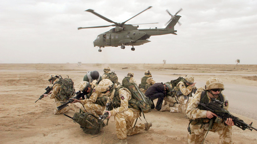 Своими силами: министр обороны Британии призвал снизить зависимость от военной помощи США