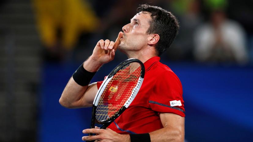 Сборная Испании вышла вперёд в противостоянии с Сербией в финале ATP Cup
