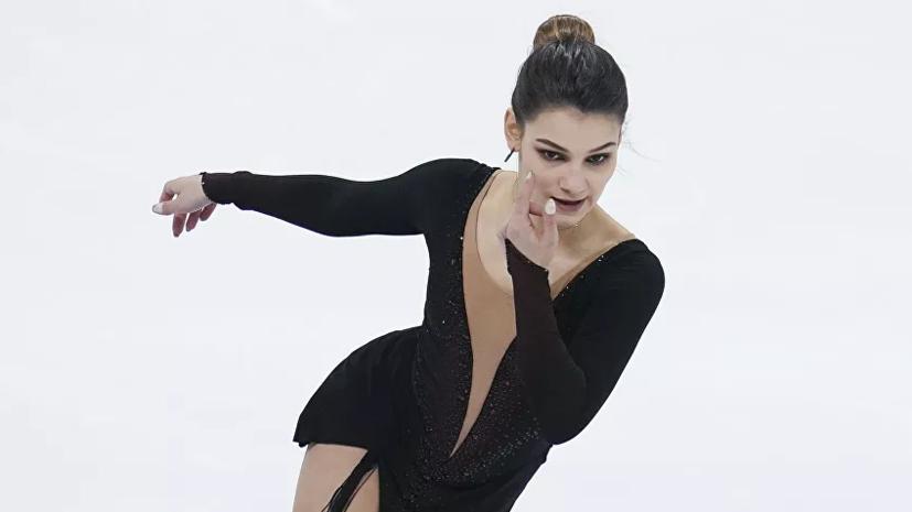 Самодурова выложила видео тройного акселя, спортсменку раскритиковали за недокрут