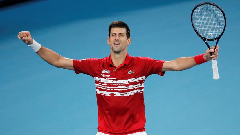 Джокович победил Надаля и сравнял счёт в финале ATP Cup