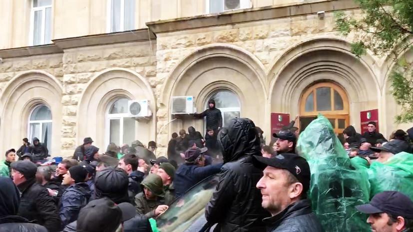 «Практически единогласное решение»: ЦИК Абхазии назначила новые выборы президента на 22 марта