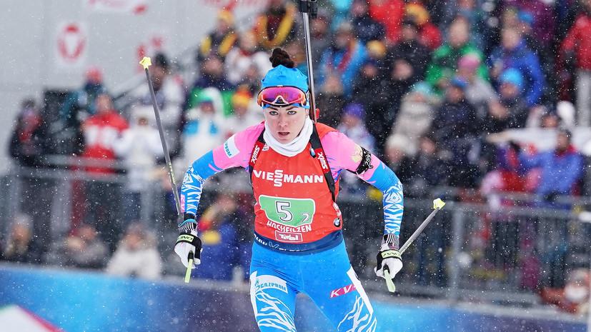 Биатлонистка Куклина высказалась о своей стрельбе в масс-старте на этапе КМ в Оберхофе