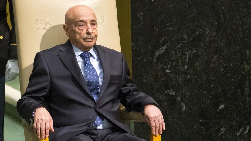Представитель ЛНА обсудит в Москве прекращение огня в Ливии