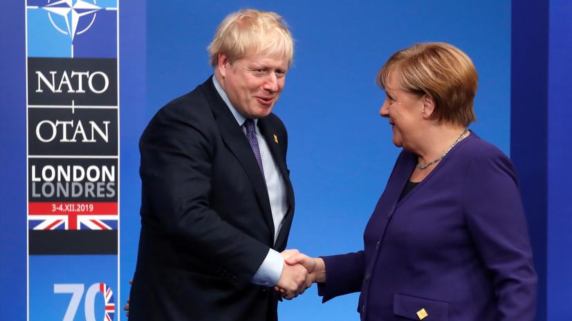 Джонсон и Меркель подтвердили приверженность иранской ядерной сделке