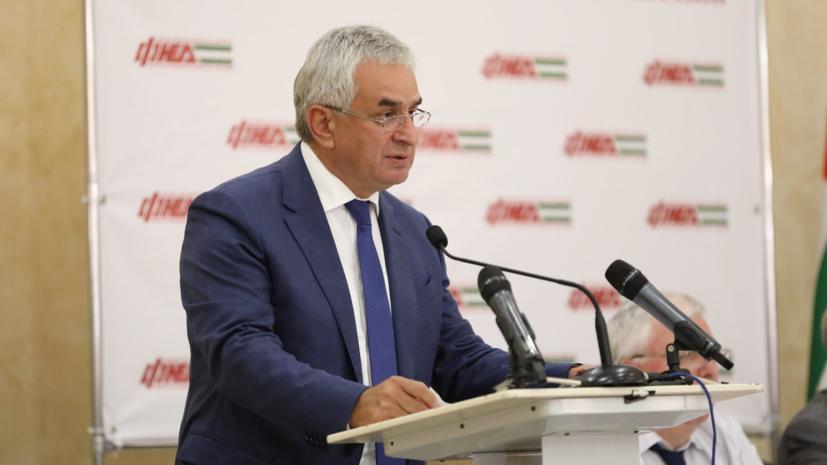 Парламент Абхазии рассмотрит заявление Хаджимбы об отставке