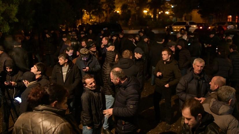 Президент Абхазии направил в парламент заявление о сложении полномочий