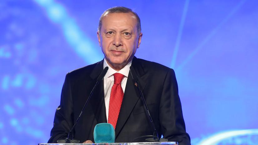 Эрдоган посетит Германию 19 января
