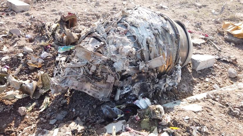 В СБУ начали расследовать крушение самолёта в Иране по трём статьям