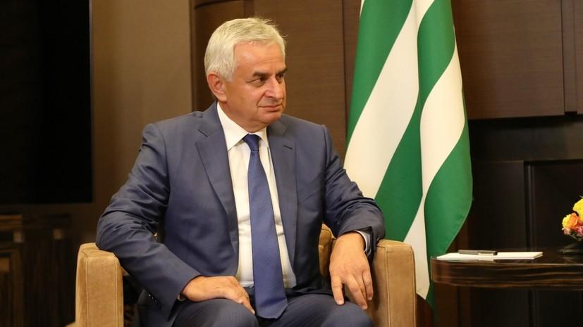 Парламент Абхазии принял отставку Хаджимбы